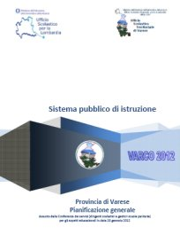 Documento pianificazione generale 2012
